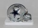 Craig Morton Autographed Dallas Cowboys Mini Helmet- JSA Witnessed Auth