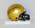 Pete Dawkins Autographed Army Black Knights Mini Helmet W/ H-1958- JSA W Auth