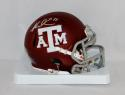 Mike Evans Autographed Texas A&M Aggies Maroon Speed Mini Helmet- JSA W Auth