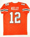 Jim Kelly Autographed Orange College Style Jersey- PSA/DNA Authenticated