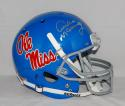 Archie Manning Autographed Ole Miss Rebels Full Size Helmet- JSA Witnessed Auth