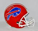 Jim Kelly Autographed *Silver Buffalo Bills Full Size Helmet- PSA/DNA Auth