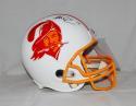 Mike Evans Autographed Tampa Bay Buccaneers F/S TB Helmet- JSA Witnessed Auth