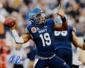 Keenan Reynolds Autographed Navy Midshipmen 8x10 Passing Photo- JSA W Auth