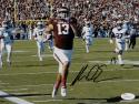 Mike Evans Signed *Blk Texas A&M 8x10 Running Against Aburn Photo- JSA W Auth