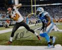 Mike Evans Autographed Tampa Bay 8x10 TD Against Lions Photo- JSA Witnessed Auth