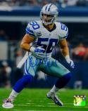 Sean Lee Autographed Dallas Cowboys 8x10 Vertical P.F. Photo- JSA Witnessed Auth