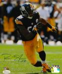 Ryan Shazier Autographed 8x10 Vertical In Black P.F. Photo- JSA Witnessed Auth