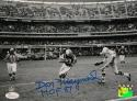 Don Maynard Autographed 8x10 NY Jets Against Chiefs Photo W/ HOF- JSA W Auth