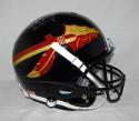 Jameis Winston Signed *Silver Seminoles F/S Black Helmet W/ Heisman- JSA W Auth