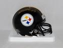 Heath Miller Autographed *Gold Pittsburgh Steelers Mini Helmet- JSA W Auth