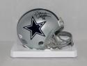 Darren Woodson Autographed Dallas Cowboys Mini Helmet- JSA Witnessed Auth
