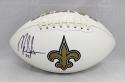 Mark Ingram Autographed New Orleans Saints Logo Football- JSA Witnessed Auth