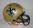 Drew Brees Autographed New Orleans Saints F/S ProLine Helmet- JSA Witnessed Auth