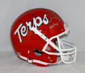 Boomer Esiason Signed Maryland Terrapins Schutt Helmet W/ Go Terps- JSA W Auth