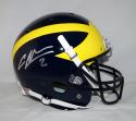 Charles Woodson Autographed Michigan Wolverines Schutt Helmet- JSA W Auth