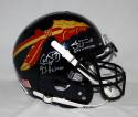 Weinke Ward Winston Heisman Signed Seminoles Black F/S ProLine Helmet-JSA W Auth