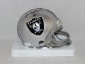 Todd Marinovich Autographed Oakland Raiders Mini Helmet- JSA Witnessed Auth
