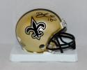Brandin Cooks Autographed New Orleans Saints Mini Helmet- JSA Witnessed Auth
