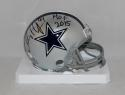 Charles Haley Autographed Dallas Cowboys Mini Helmet W/ HOF- JSA Witnessed Auth