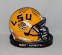 Brad Wing Autographed LSU Tigers Schutt Mini Helmet W/ Geaux Tigers- JSA W Auth