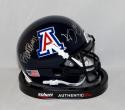 Ka'Deem Carey Signed Arizona Wildcats Blue Mini Helmet W/ Bear Down- JSA W Auth