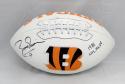 Boomer Esiason Autographed Cincinnati Bengals Logo Football W/ MVP- JSA W Auth