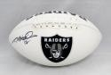 Todd Marinovich Autographed Oakland Raiders Logo Football- JSA Witnessed Auth