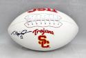 Todd Marinovich Autographed USC Trojans Logo Football- JSA Witnessed Auth