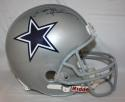 Deion Sanders Autographed *Black Dallas Cowboys F/S Helmet- JSA Witnessed Auth