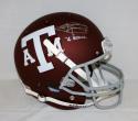 Johnny Manziel Heisman Autographed Texas A&M Aggies Maroon F/S Helmet-JSA W Auth