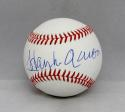 Hank Aaron Autographed Rawlings OML Baseball- JSA Authenticated