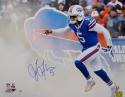 Tyrod Taylor Autographed Buffalo Bills 16x20 Smoke P.F. Photo- PSA/DNA Auth