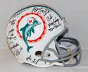 1972 17-0 Perfect Season Autographed F/S Miami Dolphins Helmet- JSA Witnessed Auth