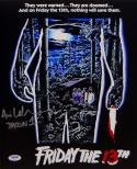 Ari Lehman Jason 1 Signed 11x14 Friday The 13th Movie Poster Photo- PSA/DNA Auth