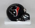 Jaelen Strong Autographed Houston Texans Mini Helmet- JSA Witnessed Auth