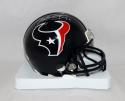 Will Fuller Autographed Houston Texans Mini Helmet- JSA Witnessed Auth