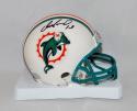 Dan Marino Autographed Miami Dolphins Mini Helmet- JSA Witnessed Auth