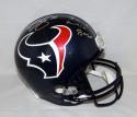 Brian Cushing Signed Houston Texans F/S Helmet W/ Im A Fuckin Beast- JSA W Auth