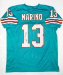 Dan Marino Autographed Teal Pro Style Jersey- JSA Witnessed Auth