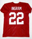 Mark Ingram Autographed Maroon College Style Jersey- JSA Witnessed Auth