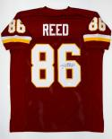 Jordan Reed Autographed Maroon Pro Style Jersey- JSA Witnessed Authenticated