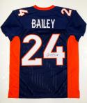 Champ Bailey Autographed Blue Pro Style Jersey- JSA Witnessed Authenticated
