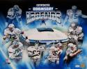 Dallas Cowboys Autographed 16x20 Doomsday Legends Photo With 6 Sigs- JSA W Auth