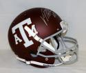 Von Miller Autographed Texas A&M Aggies F/S Maroon Helmet- JSA Witnessed Auth