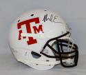 Mike Evans Autographed Texas A&M Aggies White F/S Helmet- JSA Witnessed Auth