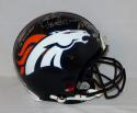 Miller Elway Davis MVP Autographed Denver Broncos F/S ProLine Helmet- JSA W Auth