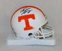 Peyton Manning Autographed Tennessee Volunteers Mini Helmet-MountedMemories Auth