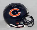 Singletary Urlacher Butkus Signed Chicago Bears F/S Proline Helmet-Schwartz Auth