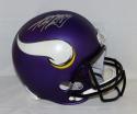 Adrian Peterson Autographed Minnesota Vikings Full Size Helmet- PSA/DNA Auth